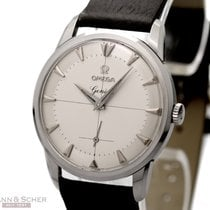 Omega Vintage Gentlemans Watch Ref-2907-17 Stainless Steel Bj...