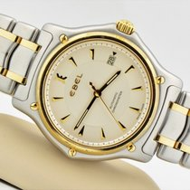 Ebel Two Tone 18k Gold Stainless Steel 1911 Automatic Watch...