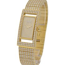 Piaget clas_yg_full_pave_rectange Classique in Yellow Gold -...