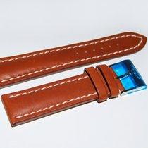 Breitling Kalbslederband mit Dornschliesse Braun 22-20 mm