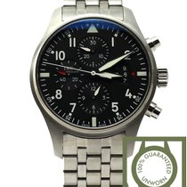 IWC Pilots watch Chronograph steel bracelet