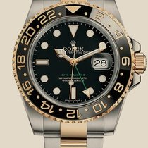 Rolex Oyster GMT Master II 40mm Steel and Yellow Gold