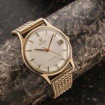 Omega Geneve  9 ct gold with solid gold bracelet plus full set