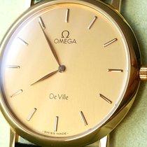 Omega gents Gold 18K Herrenuhr Vintage De Ville NOS