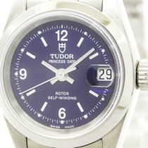 Tudor Polished  Princess Oyster Date Steel Automatic Ladies...