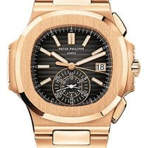 Patek Philippe Nautilus Chronograph 59801R-001 Rose Gold With...