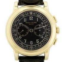 Patek Philippe 5070J Chronograph 18k  Gold Mens Watch