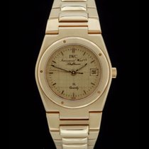 IWC Ingenieur SL Lady Ref.: 6704 in 18.K. Gelbgold -Box/Papier...