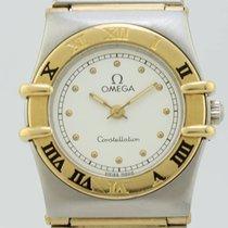 Omega Constellation Quartz Steel-Gold Lady