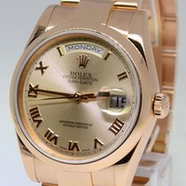 Rolex Day Date 18k Pink Gold Mens Automatic Everose Mens Watch...