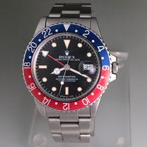 Rolex Gmt-master 16750 With Pepsi Insert From 1985