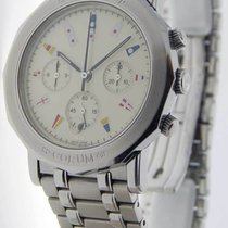Corum Admirals Cup Automatic Chronograph Steel Watch Box/Paper...