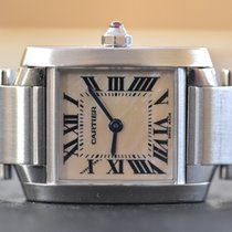 Cartier Tank Française Mother of Pearl