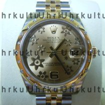 Rolex Datejust, Ref. 178343 - champagner floral ZBJubileband