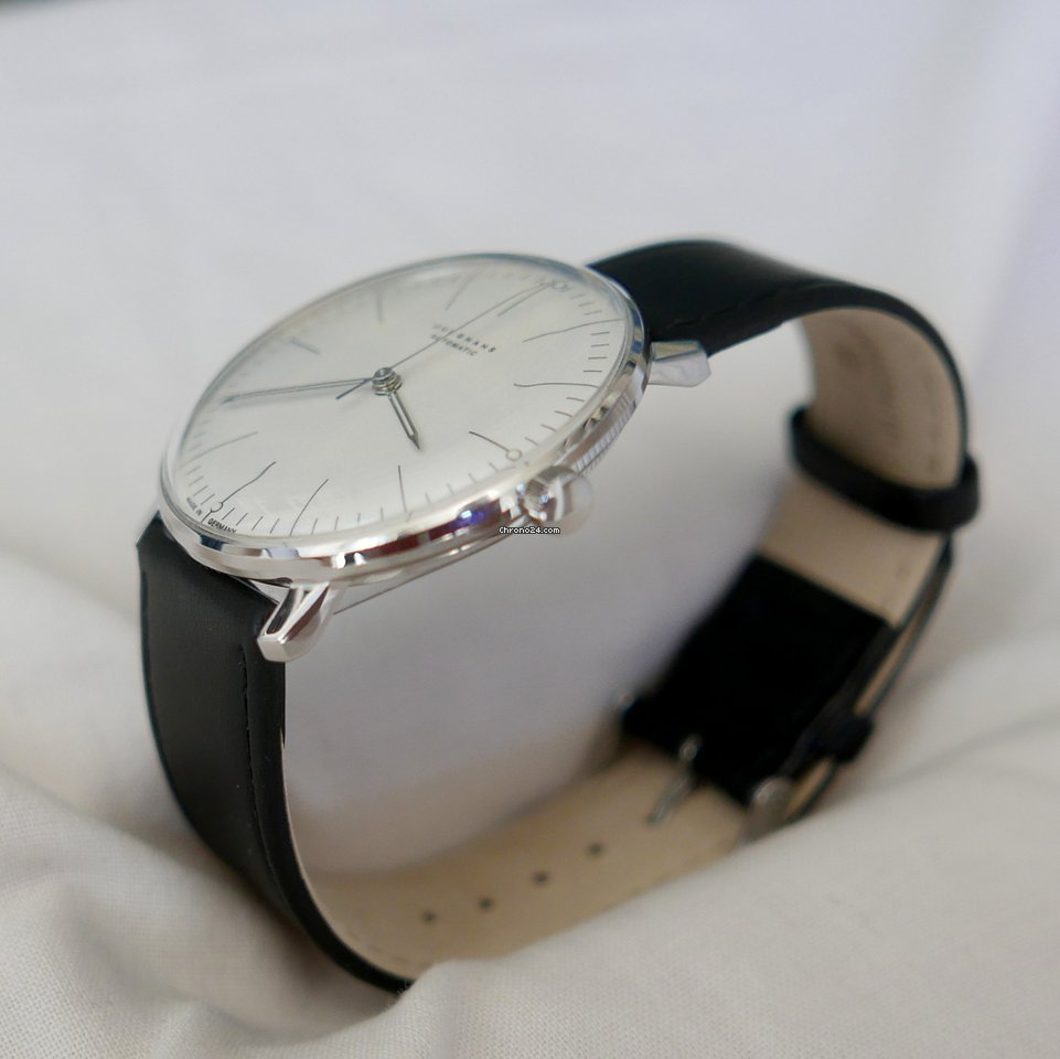 junghans max bill automatic for 603 for sale from a. Black Bedroom Furniture Sets. Home Design Ideas