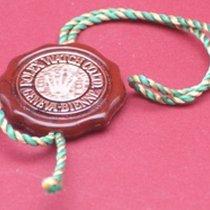 Rolex Chronometer-Siegel rot helle Kordel mit Krone im Hollogramm