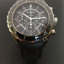 Chanel J12 chronograph automatic,ceramic, 41mm