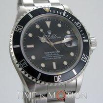 Rolex Submariner Date 16610 FULL TRITIUM Cert Rolex Boite...