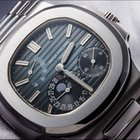 Patek Philippe [NEW][CAN NAME] Mens Stainless Steel Blue...