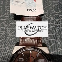 Locman STEALTH QuartzTitanium/Steel Brown Dial G