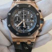 Audemars Piguet Royal Oak Offshore 42 grey dial in rose gold...