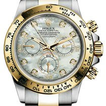 Rolex Daytona Cosmograph Daytona 40mm Steel and Yellow Gold