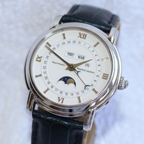 艾美 (Maurice Lacroix) Masterpiece MP6347 Moonphase Triple Date...