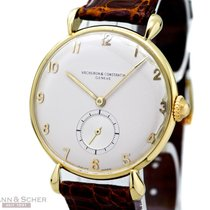 Vacheron Constantin Gentlemans Watch 18kt Yellow Gold Manual...