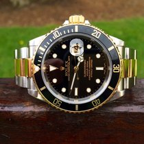 Rolex Submariner Date – Steel & Gold 16613 – Black Dial
