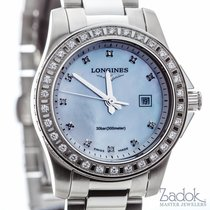 Longines Conquest 29mm Stainless Steel 0.648ct Women's Watch...