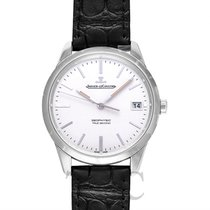 Jaeger-LeCoultre Geophysic True Second Stainless Steel/Leather...