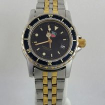 TAG Heuer Wd1420-g-20 Divers Professional Womens Ladies 2 Tone...