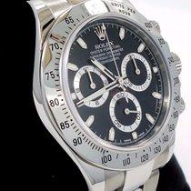 Rolex Daytona 116520 Cosmograph Chrono Oyster Black Dial Watch...