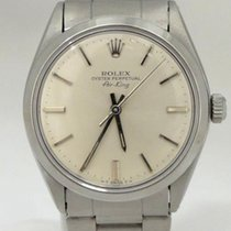 Rolex Oyster Perpetual Air-king Silver Dial Stainless Steel...