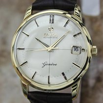 Omega Geneve Rare 1960s Vintage 18K Solid Gold Swiss Made...