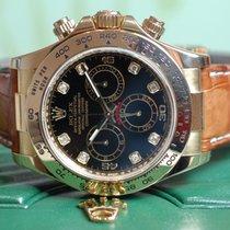 롤렉스 (Rolex) Rolex Daytona  Gelbgold Black Diamond Rehaut