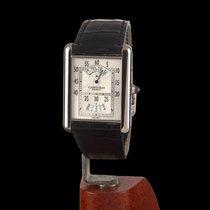 Cartier Luis Cartier Jump Hours White Gold Manual Widing