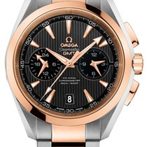 Omega Aqua Terra 150m Co-Axial GMT Chronograph 43mm 231.20.43....