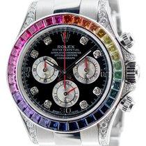 롤렉스 (Rolex) Rolex Cosmograph Daytona in Steel with Rainbow...