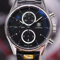 TAG Heuer Carrera Cal.1887 Chronograph Automatic Black (near...