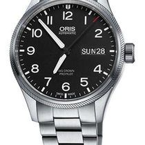 Oris Big Crown ProPilot Day Date, Steel Bracelet