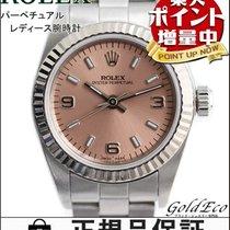 ロレックス (Rolex) 【ロレックス】オイスター パーペチュアルレディース腕時計 自動巻きオートマ シルバーステンレス×...