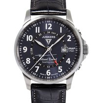 Junkers Mountain Wave Project Quartz Watch Gmt 2nd Time Zone...
