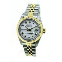 Rolex Datejust Lady Armbanduhr Stahl/Gold Ref: 69173