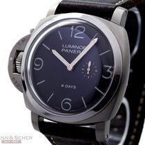 Panerai Luminor 1950 Left Hander PAM368 Titanium Box Papers...