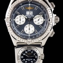 Breitling S/S Grey Dial Crosswind Special Chronograph Gents...