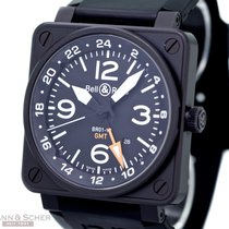 Bell & Ross Bell&Ross Aviation GMT PVD Ref-BR01-93...