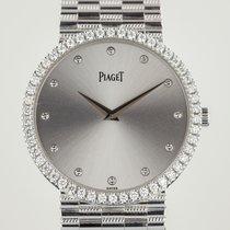 Piaget 9066N G2 Mecanique, Mens, 18K White Gold, Diamond Bezel...