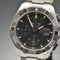 TAG Heuer Aquaracer 300M Chronograph Automatic Black Dial...