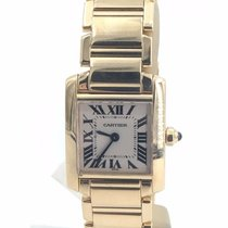Cartier Tank Francaise 18k Yellow Gold On Bracelet Small...